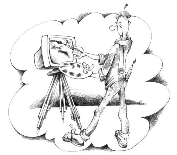 Рисунок Владимир Ягольник